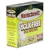 Manischewitz Yolk Free Egg Matzo, 12 Ounce -- 12 per case.