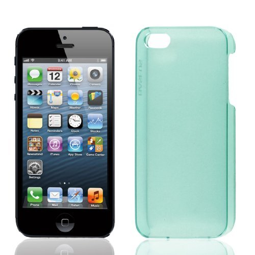 - EbuyChX I-Clear ANG Green Hard Plastic Bumalik Kaso Cover Shell Guard para sa iPhone 5 ika-5