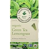 Traditional Medicinals Organic Green Tea With Lemongrass, 20 tea bags