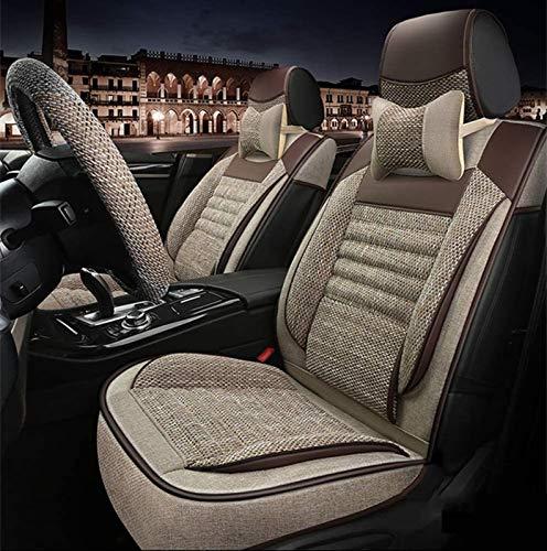 Car Seat Cover Four Season Protection Pad for Airbag met Pillow voorste en achterste Seat 5 Seat volledige set van…