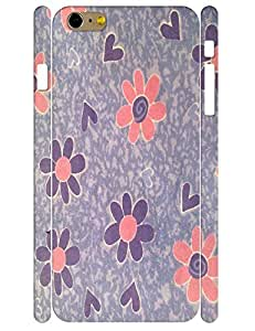 Design Kawaii Wild Floral Tough Phone Dust Proof Skin Case for Iphone 6 Plus 5.5 Inch