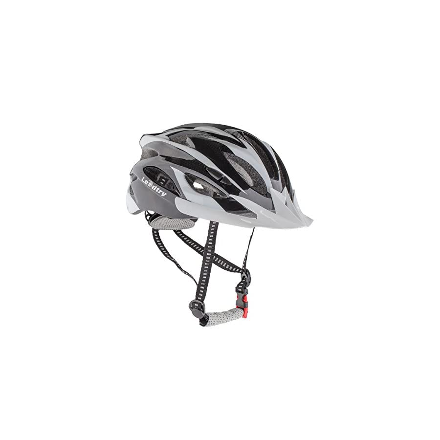 Leadtry HM 3 Bike Helmet Ultralight Integrally Molded EPS Bicycle Helmet Safety Helmet Specialized for Road/ Mountain Terrain Bicycle with Comfortable Removable Washable Antibacterial Pads