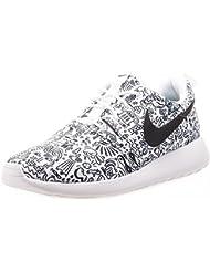 Nike Roshe One Print Premium White/Black (Womens)