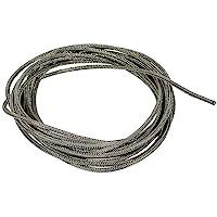 12' Gavitt Braided Cloth-Covered Pre-Tinned Pushback 22 AWG Guitar Wire