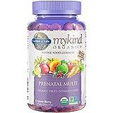 Garden of Life Prenatal Gummy Vitamin with Folate - mykind Organics Gummy Multivitamin for Women, 120 Count Certified Organic Fruit Chews