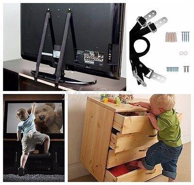 furniture-tv-anchoring-bolt-straps-set-of-2-child-pet-safety-anti-tip-security-adjustable-vesa-mount