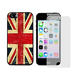 Iphone 5s Case, British Uk Flag Case for Iphone 5/5s - Free Screen Protector