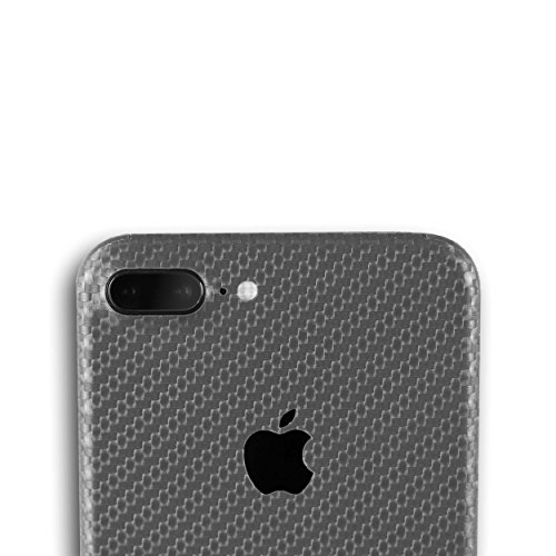 AppSkins Folien-Set iPhone 7 Plus Full Cover - Carbon grey