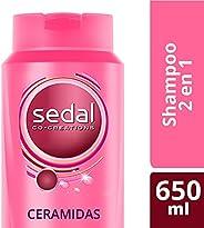 Sedal Shampoo Ceramidas 2 en 1, 650 ml