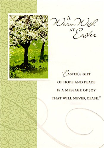 Amazon cherry blossom tree designer greetings religious cherry blossom tree designer greetings religious easter card negle Image collections