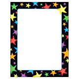 Trend Enterprises T-11413BN Gel Stars Terrific Papers, 50 Sheets per Pack, 6 Packs