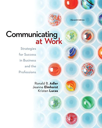 Communicating At Work W/Connect Plus