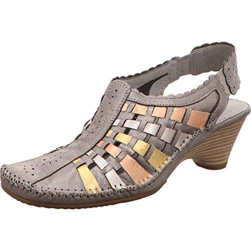 Da Sling platin Shoes silber Jana 7APnxaw