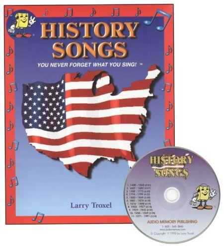 History Songs Audio CD/Book