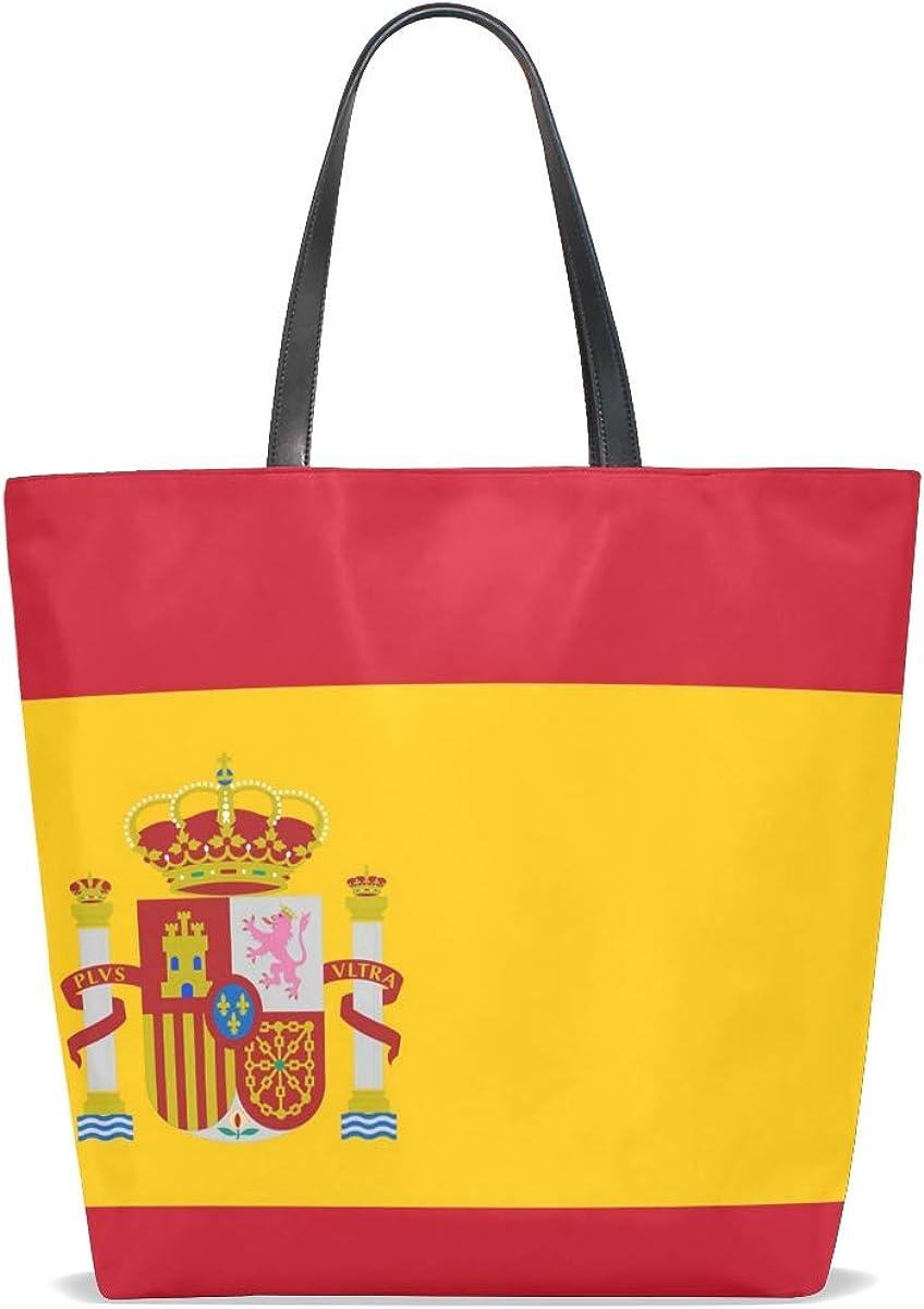 DEZIRO - Bolsas de la bandera de España para uso diario: Amazon.es: Zapatos y complementos