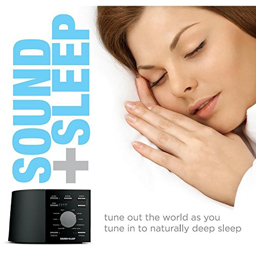 Better Sleep White Noise Sound Machine For Adults And: Sound+Sleep High Fidelity Sound Machine With Real Non