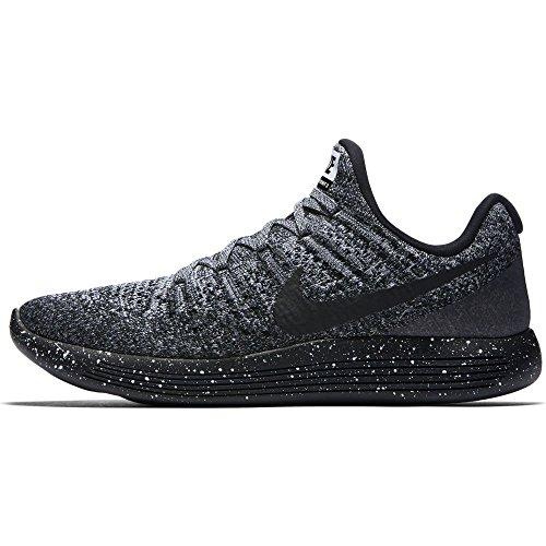 Nike W Nike Lunarepic Low Flyknit 2 Black/Black-white-racer Blue
