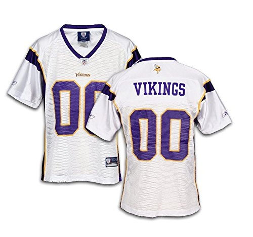 Minnesota Vikings NFL Womens Team Replica Jersey, White