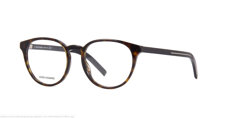 c11e83437a4 New Christian Dior Homme Blacktie 251 086 Dark Havana Eyeglasses   Amazon.co.uk  Clothing