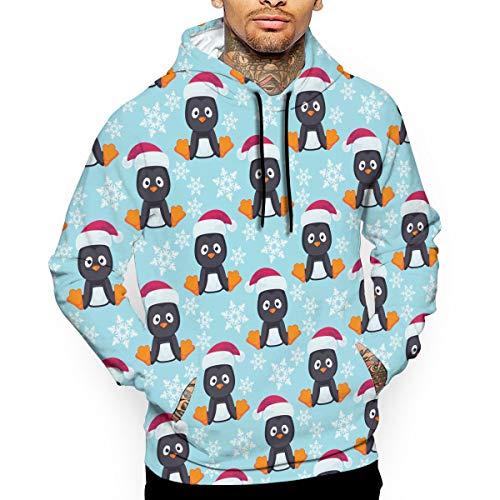 - Go KJ Unisex Christmas Little Penguin Hoodies Personalized Pullover Hood Jackets Sweatshirt