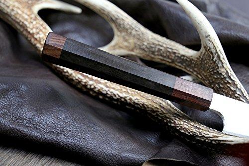 Yoshihiro Hongasumi VG Stainless Steel Yanagi Sushi Sashimi Japanese Knife with Nuri Saya Cover ( 13 IN) by Yoshihiro (Image #3)