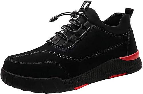 Scarpe Antinfortunistica con Punta in Acciaio, Sneaker da Lavoro Cantiere per Uomo Donna, Antinfortunistiche di Sicurezza Sportive Leggere e Eleganti