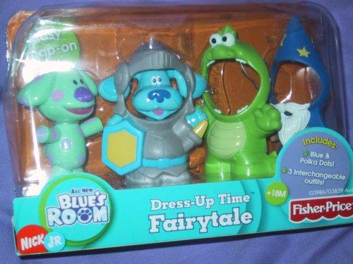 Blues Clues POLKADOTS Dress up Costume Fairytale Figures Playset ()