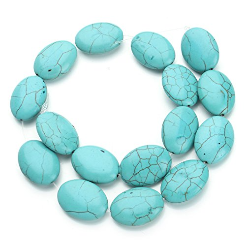 Oval Stone Beads - 2