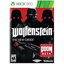 Brand New Bethesda Softworks Wolfenstein New Order X360