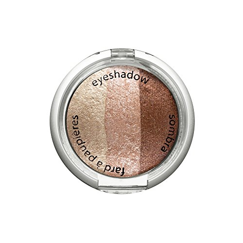 Palladio Cosmetic Baked Eyeshadow Trio, Cafe Latte, 0.09 Ounce ()