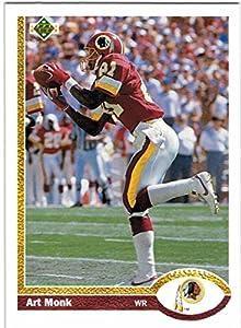 1991 Upper Deck & High #'s Super Bowl Champion Washington Redskins Team Set with Art Monk & Darrell Green - 21 Cards