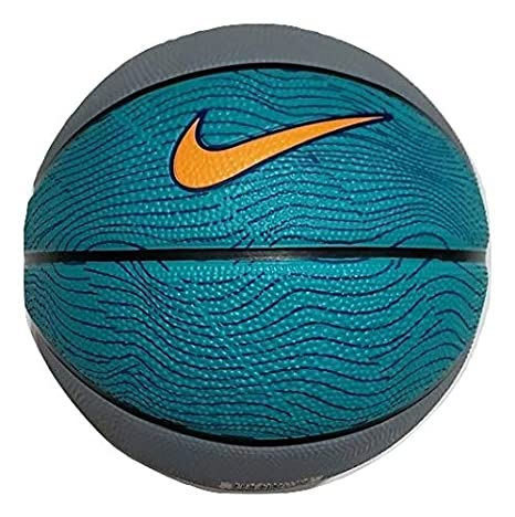 Nike Unisex Skill Mini Practice Basketball Green/Grey/Black ...