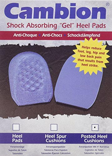 Cambion Posted Heel Cushions - Pair - Men 8-10, Women 10-12