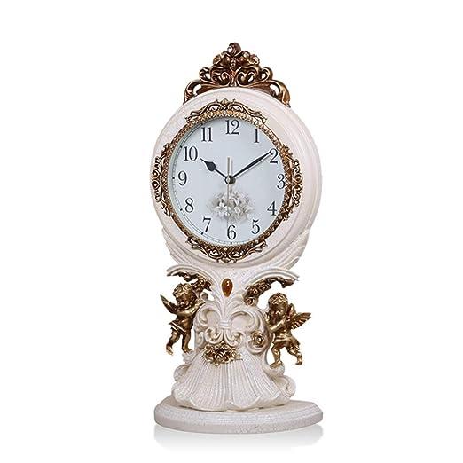 Reloj LWF Mesa Vintage Sala de Estar Decoración Dormitorio ...