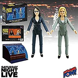 Saturday Night Live Weekend Update Tina Fey & Amy Poehler SNL Action Figures