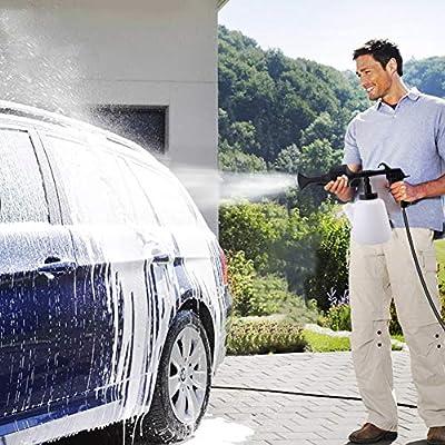 Carfka Car Foam Sprayer Gun, Upgraded High Pressure Car Wash Foam Gun for Car Home Cleaning and Garden Use - Exterior Air Pulse Sprayer Nozzle,1L Soap Bottle: Automotive