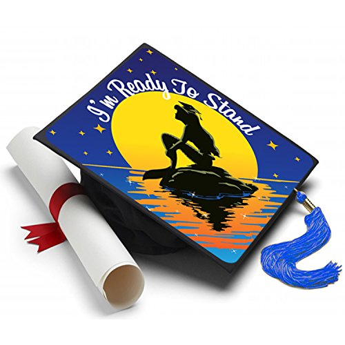 Tassel Toppers Little Mermaid - Grad Cap Decorated Grad Caps -