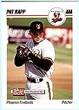 1992 SkyBox Triple AAA Minor League Baseball #180 Pat Rapp PHOENIX FIREBIRDS SAN FRANCISCO GIANTS