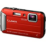 Panasonic LUMIX DMC-FT30EG-R Outdoor Kamera (16,1 Megapixel, 4x opt. Zoom, 2,6 Zoll LCD-Display, wasserdicht bis 8 m, 220 MB interne Speicher, USB) rot