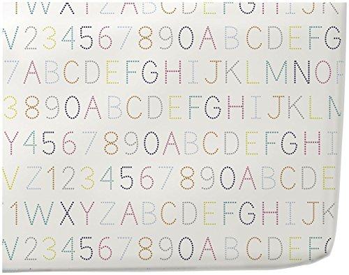 Pehr Crib Sheet, Alphabet