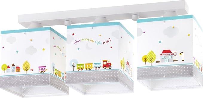 Led Lampe Kinderzimmer Decke Deckenleuchte Eisenbahn 65533 3 Stufen