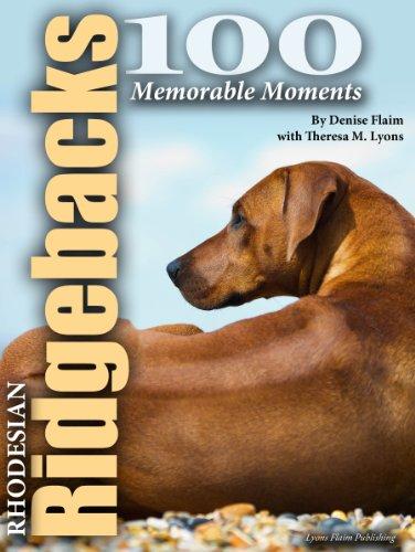 100 Memorable Rhodesian Ridgeback Moments