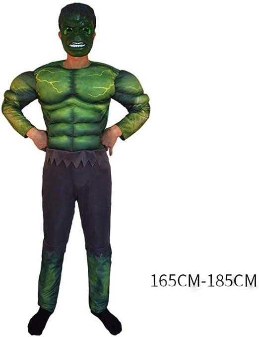 XINFUKL Halloween Adulto Capitán América Cosplay Disfraz Rojo Iron ...