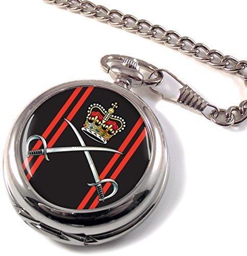 Royal cuerpo de ejército entrenamiento físico Full Hunter reloj de bolsillo