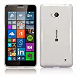 PES Exclusive Soft Silicone tpu-new Transparent Clear Case Soft Back Case Cover With Original Packaging Kit For Microsoft Lumia 640 Dual SIM
