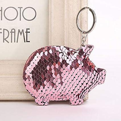 Amazon.com: Best Quality - Key Chains - Cute Pig Keychain ...