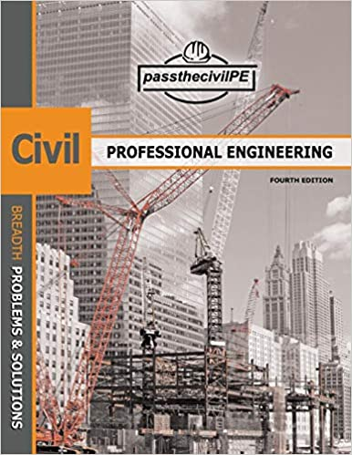 Pass The Civil Professional Engineering PE Exam Guide Book