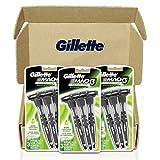Gillette Mach3 Sensitive Men's Disposable Razors, 9 Razors