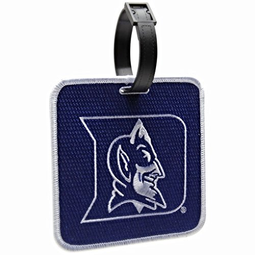 NEW! Duke Blue Devils Golf Bag Tag Embroidered Luggage Tag Duke Blue Devils Gym Bag