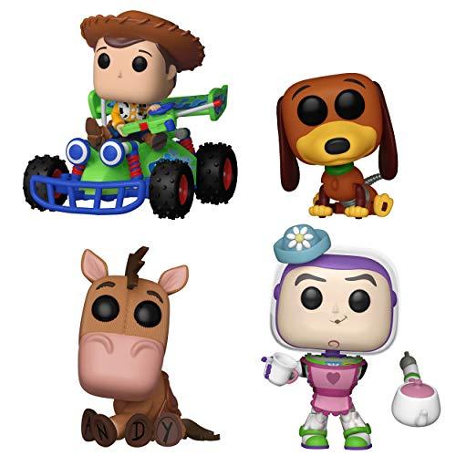 Slinky Collector (Funko Movies: Pop! Toy Story Collectors Set - Slinky Dog, Mrs. Nesbit, Bullseye, Wood with RC)